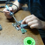 soldering up electronic speed controls