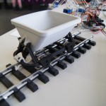 3d printed train carriage