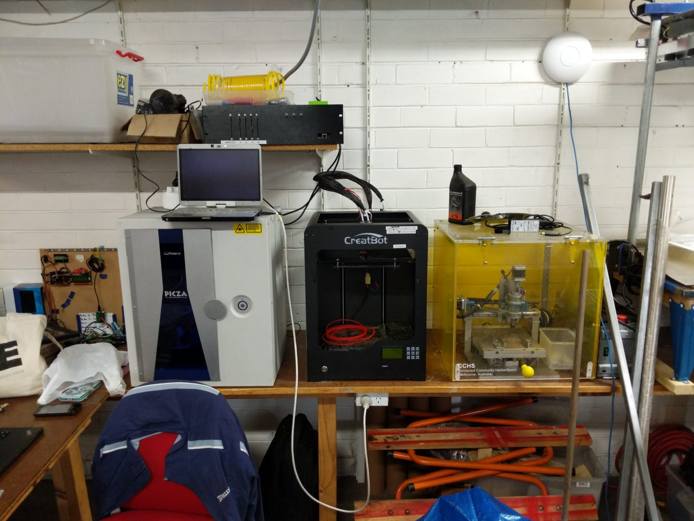 Virtual Tour Around the Hackerspace « CCHS